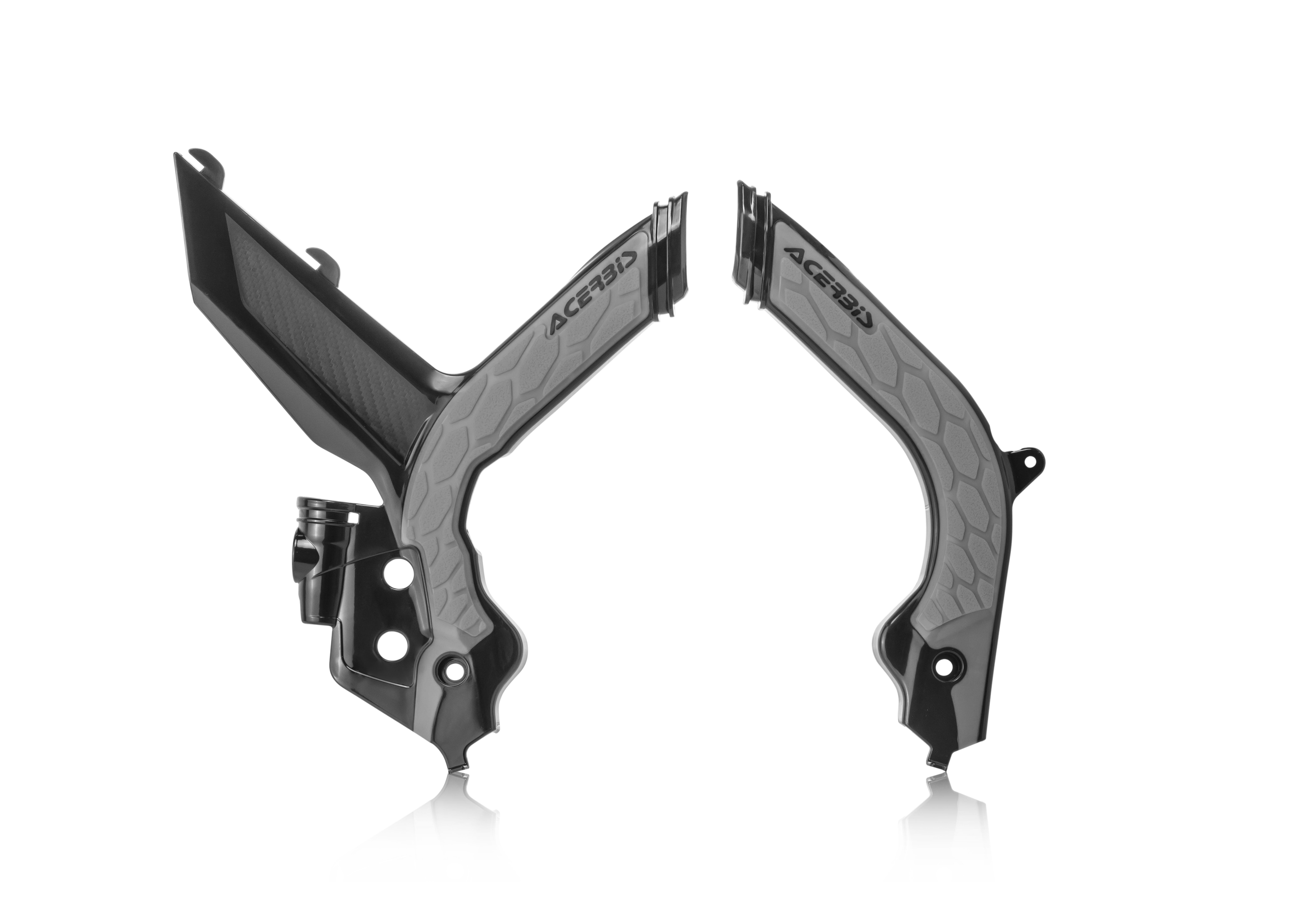 Acerbis X-Grip Frame Guards White//Black for KTM 450 SX-F 2013-2015