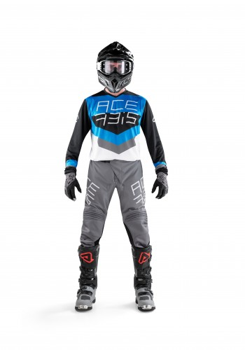 MX TRACK  Black-Blue