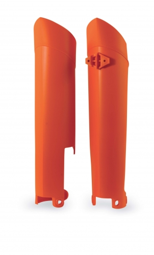 PLASTICS  LOWER FORK COVERS LOWER FORK COVER
