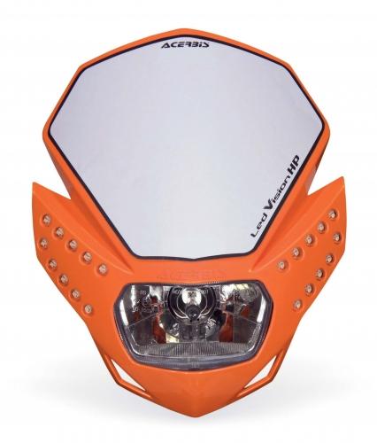 PLASTICS  HEADLIGHTS LED VISION HP HEADLIGHTS