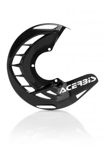 PLASTICS  FRONT DISK COVERS CARBON X-BRAKE FRONT DISC COVER