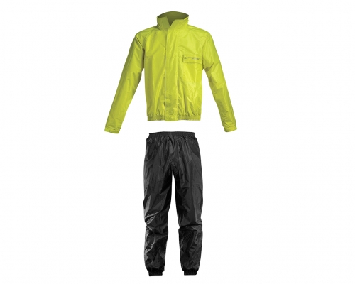 DUAL ROAD  RAIN GEAR RAIN SUIT LOGO