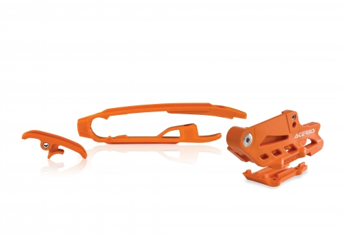 PLASTICHE  PASSACATENA / CRUNA CATENA KIT ACERBIS KIT CRUNA CATENA/PASSACATENA KTM/HUSQVARNA