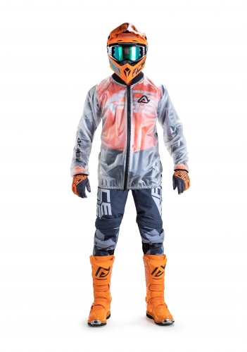 OFF ROAD  ANTIAPIOGGIA TRASPARENT PRO RAIN JACKET 3.0