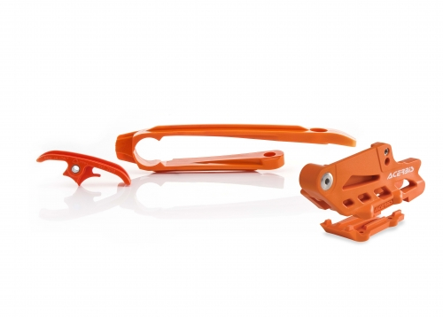 PLASTICHE  KIT CRUNA CATENA / PASSACATENA ACERBIS KIT CRUNA CATENA/PASSACATENA KTM