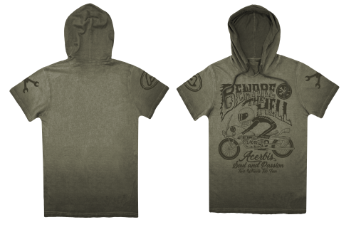 SP CLUB  T-SHIRT HOOD SPEED T-SHIRT