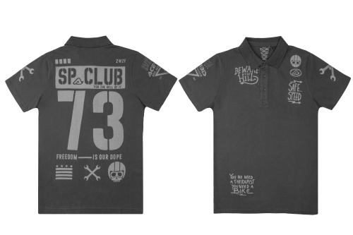 SP CLUB  T-SHIRT 73 POLO