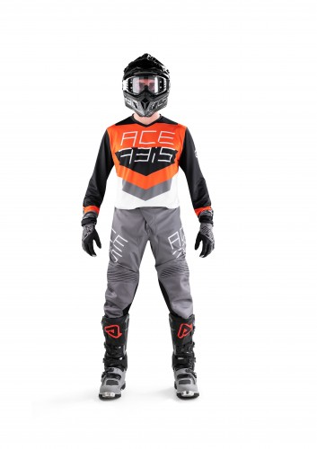 MX TRACK Black-Orange